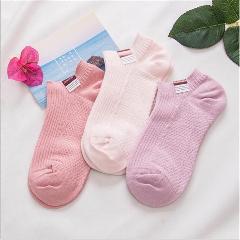 Носки женские хлопковые 1 пара, однотонные мягкие нескользящие носки-тапки с глубоким вырезом, силиконовой подкладкой, в полоску, хлопковы...