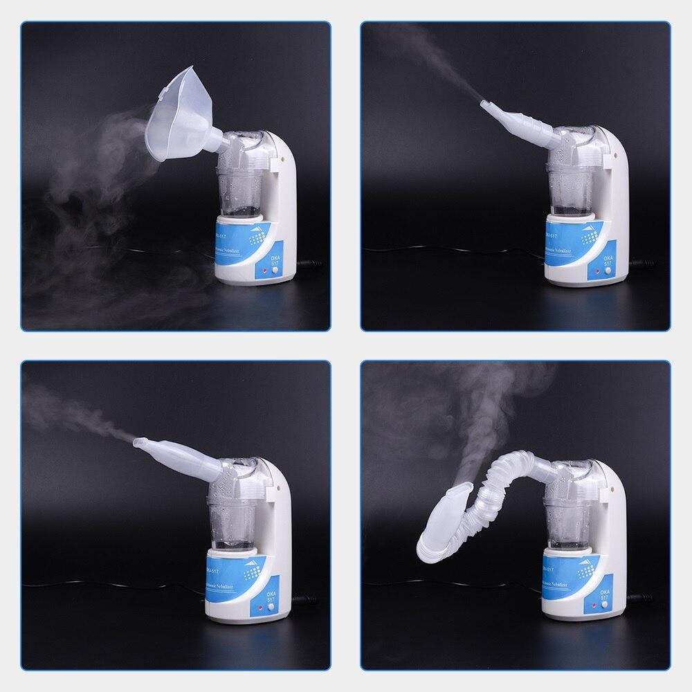 Inhalador de asma Mini automático para niños adultos inhalación nebulizador ultrasónico nebulizador Spray aromaterapia vapor cuidado de la salud