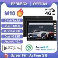 perkbox android 10 0 tablet 10 inch 6gb ram64gb rom 128gb expansion octa core processor google certified 5000mah wifi gps