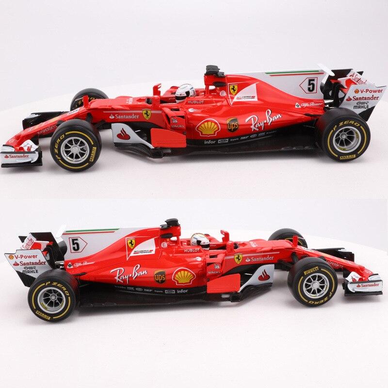 Bimeigao 1 18 modèle de voiture en alliage modèle Ferrari Sf70-hf1 équation modèle de voiture de course 17 nouveaux produits