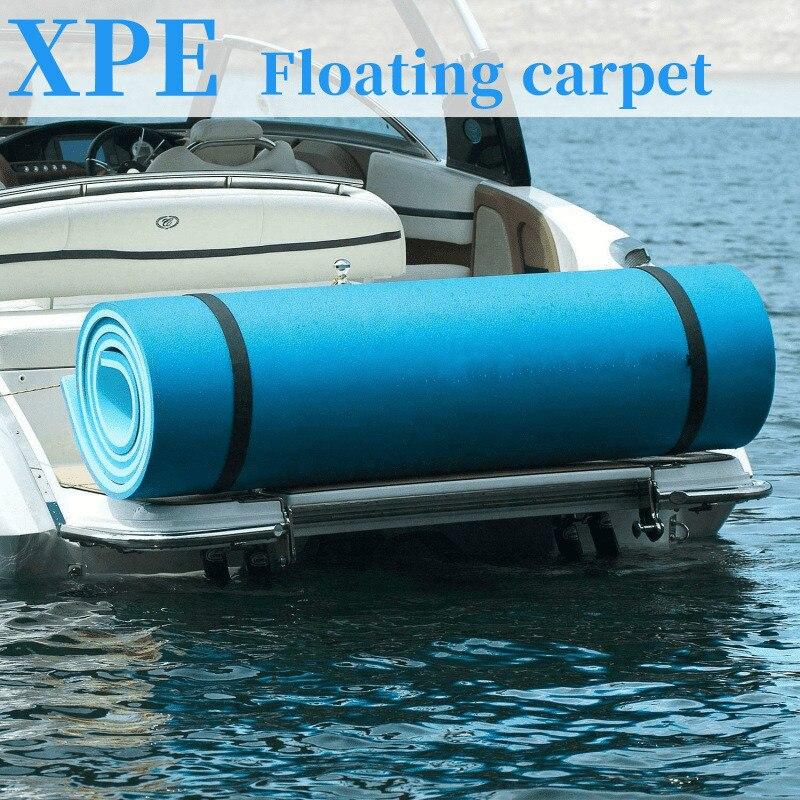 180x50 سنتيمتر العائمة وسادة الصيف جديد كبير في الهواء الطلق المسيل للدموع مقاومة XPE رغوة حمام سباحة بطانية المياه تعويم حصيرة السرير