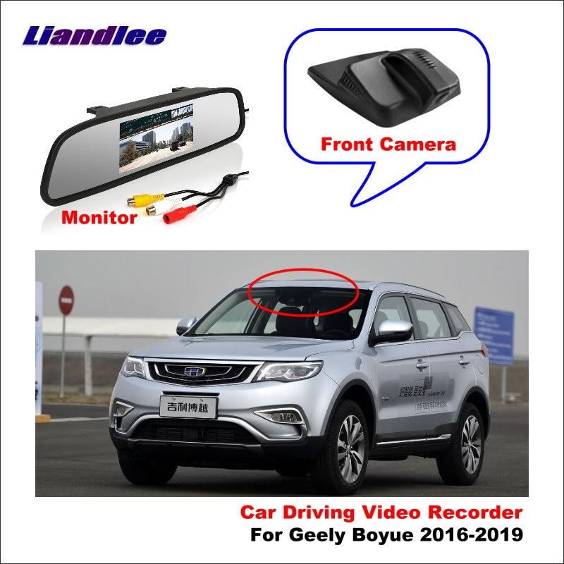 Liandlee Car DVR Wifi Video Recorder Dash Cam Camera For Geely Boyue 2016-2019 Night Vision APP
