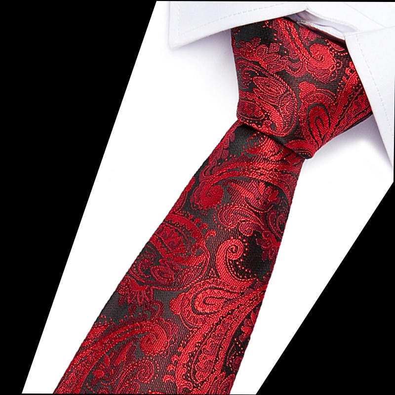 The new men s casual tie brushed cotton 6cm floral and women fashion factory wholesale