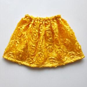 Новинка 2021, детская юбка с цветами, летняя пляжная одежда для девочек, жаккардовое повседневное модное платье желтого цвета