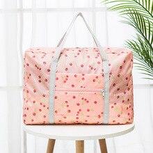 2021 New Nylon Foldable Travel Bag Unisex Large Capacity Bag Luggage Women WaterProof Handbags Organ