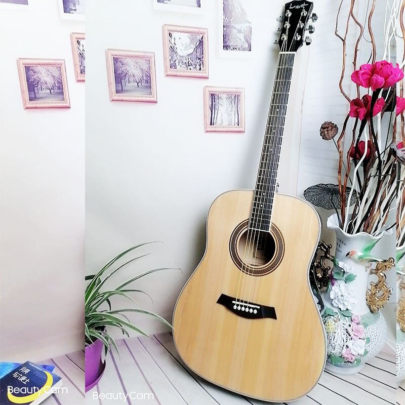 Hollow Body Electric Guitar Gifts Body Blue Acoustic Travel Electric Guitars High Quality Violao Eletrico Instruments DL6DJT enlarge