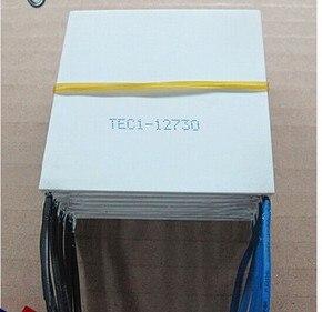 Placa de refrigeración TEC1-12730 12V30A 62x62 267W alta potencia gran diferencia de temperatura súper refrigeración Semiconductor