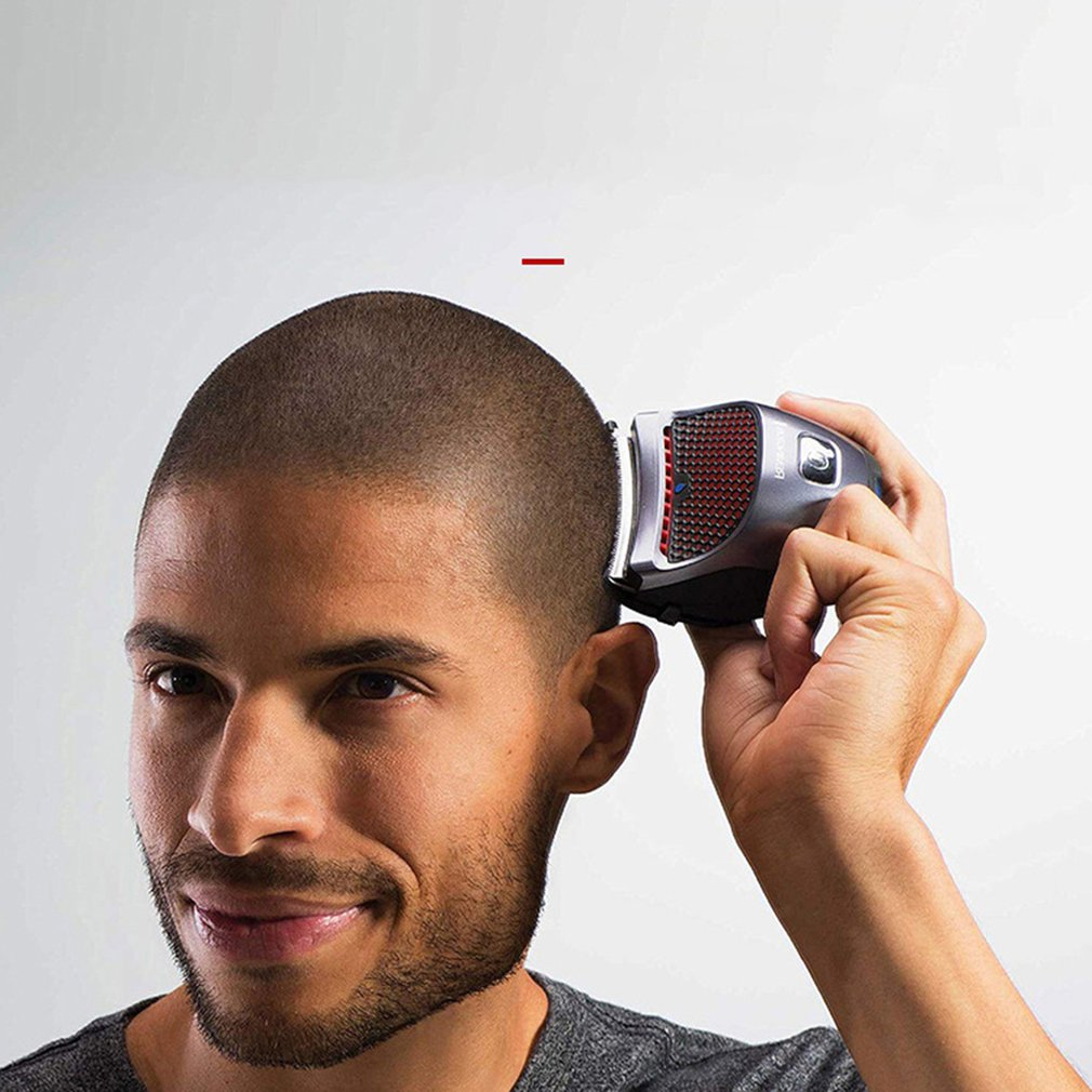 Household Electric Shaved Head Knife Hair Clipper Self-Help Intelligent Adult Children Hair Clipper Hair Clipper enlarge