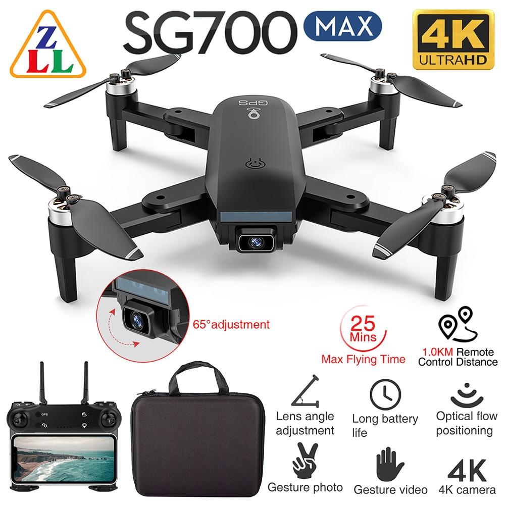 وصل حديثا ZLL SG700 ماكس FPV نظام تحديد المواقع 5G واي فاي 4K HD كاميرا مزدوجة 25 دقيقة وقت الطيران بدون فرش RC الطائرة بدون طيار RTF