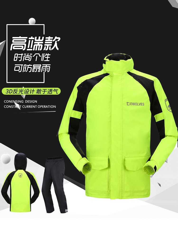 Rain Jacket Women Poncho Raincoat Fashion Impermeable Rain Protection Raincoat Rain Gear Poncho Capa De Chuva Raincoats BC50RC enlarge