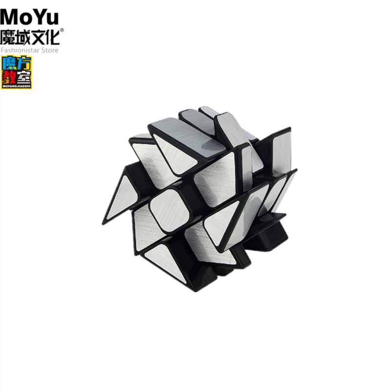 Moyu espelho moinho de vento cubo 3x3x3 cubo mágico 3x3 cubos de velocidade 3*3 cubo escovado adesivo 3x3 qpuzzle cubo magico profissional magic neocube educativos Moyu Mirror windmill magic cube