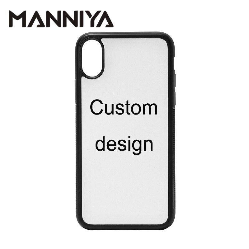 MANNIYA Custom sublimation telefon fall für iphone 11/11 pro/11 pro max/6 7 8 X XS XR XS MAX Freies verschiffen! 100 pcs/lot