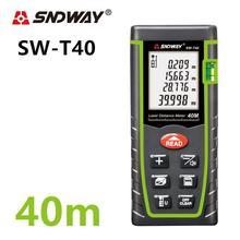 Sndway télémètre Laser télémètre Laser télémètre ruban à mesurer Laser 40m 60m 80m 100m règle SW-T
