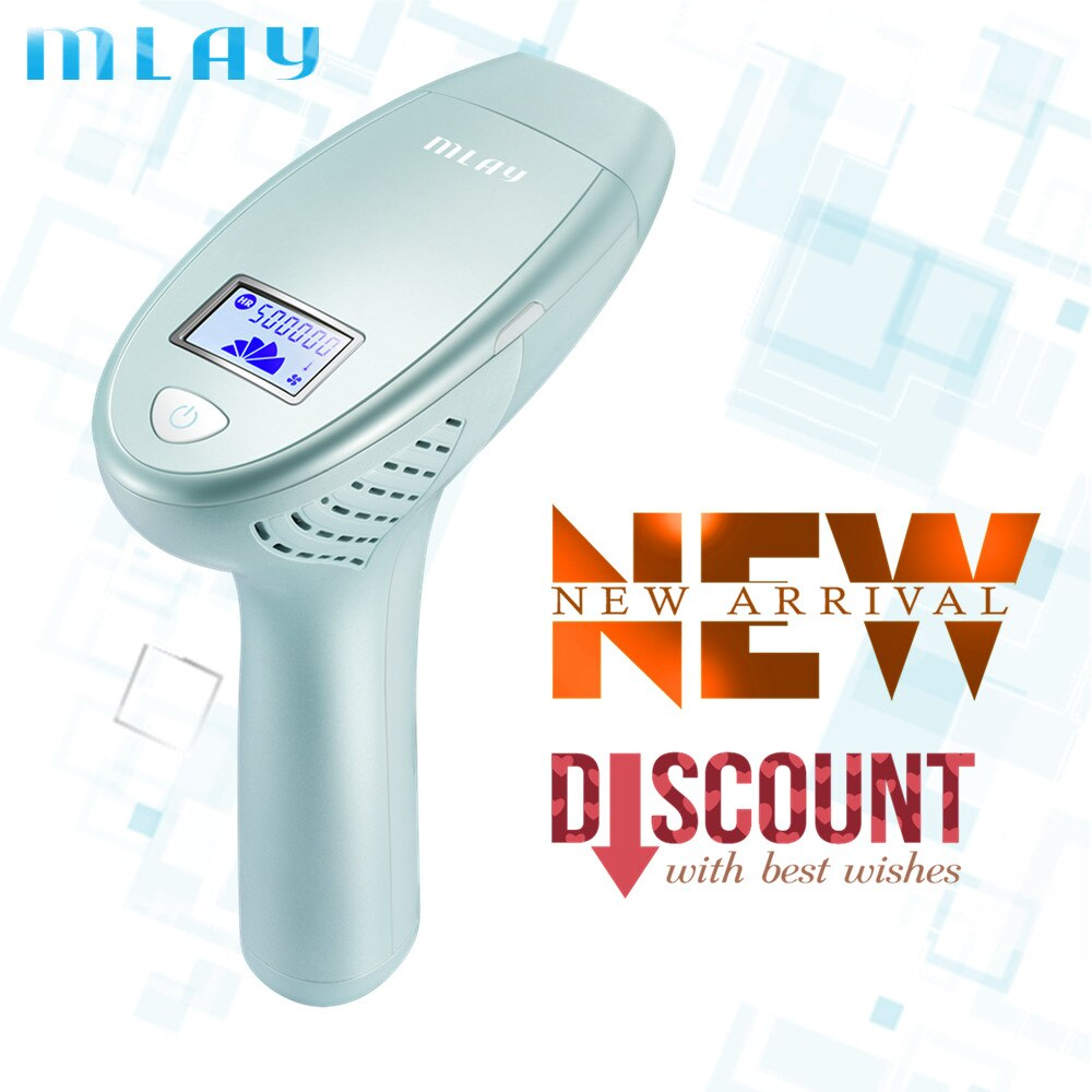 MLAY M3 Laser Hair Removal IPL System 500000 Shot Light Pulses Whole Body Hair Remover mlay m3 IPL laser epilator