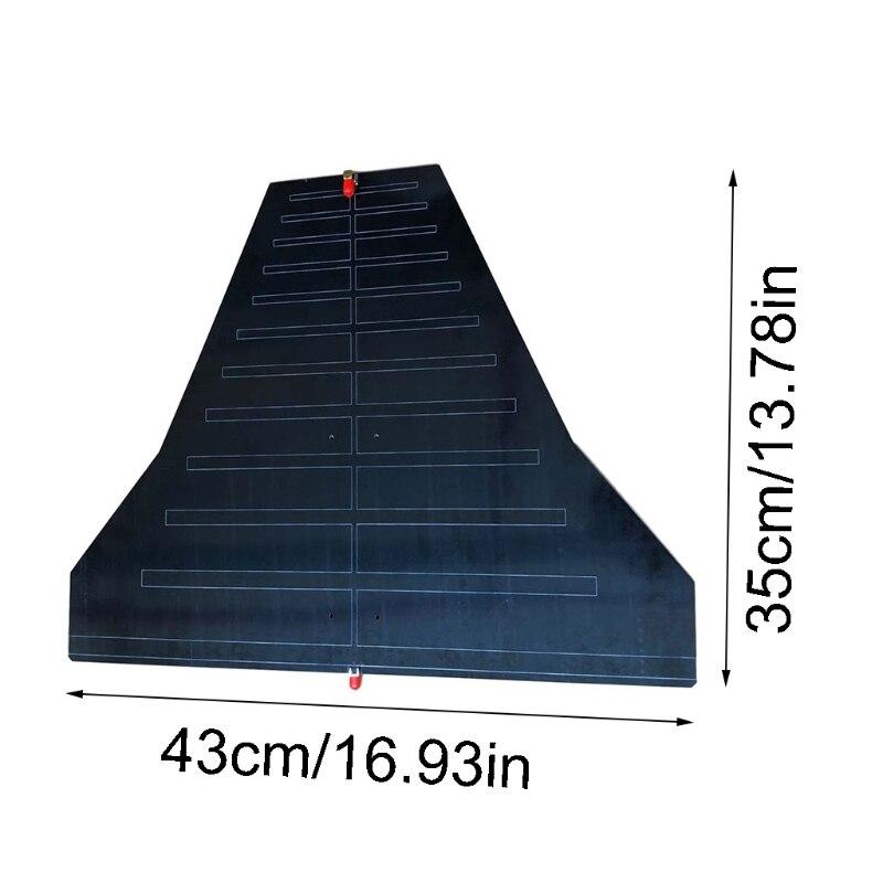هوائي اتجاهي EMI تصحيح التوصيل 290M-1.1G EMC هوائي النطاق العريض مع موصل مزدوج