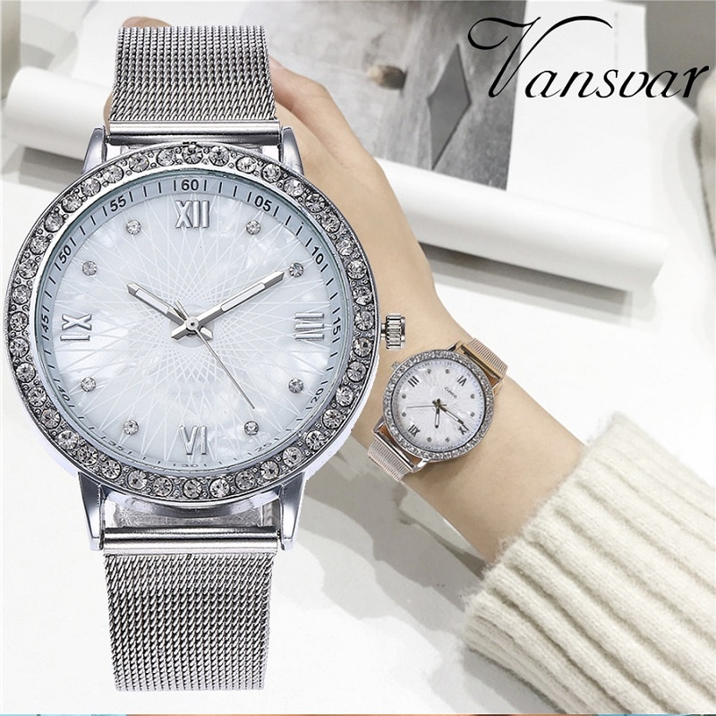 Luxury Women Watch reloj hombre Diamond Silver Ladies Watch Casual Wristwatch For Female Clock relogio feminino montre femme reloj hombre luxury women watches diamond ladies watch casual quartz wristwatch for women clock relogio feminino montre femme