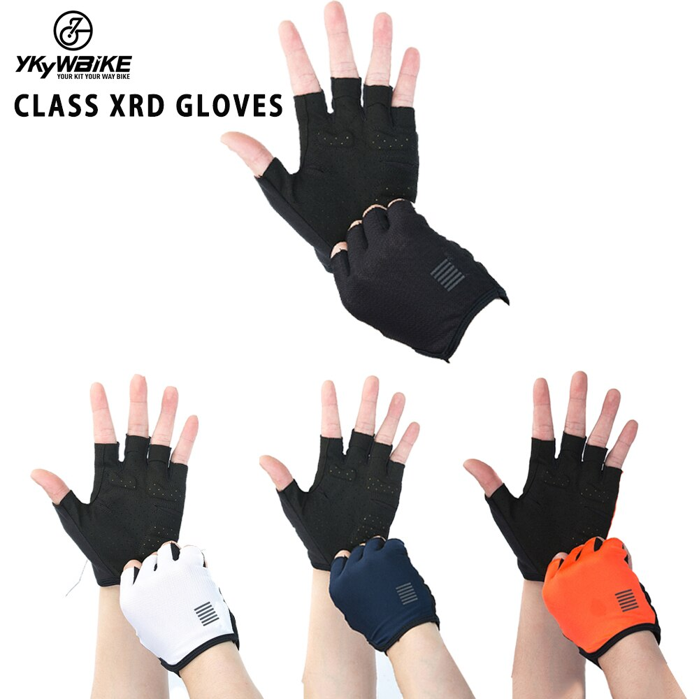 gloves men mountain bicycle gloves 3d gel pad bright green sport gloves with reflective half finger mtb bike gloves cycling YKYWBIKE Mountain Bike Half Finger Gloves Men Summer   Bicycle MTB Bike Gloves Guantes Ciclismo Cycling Gloves MTB Road Gloves
