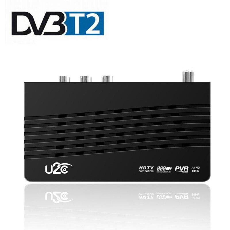U2C HD 115 DVB-T Wifi Receiver HD Digital TV Tuner Receptor DVB T2 H.264 Terrestrial TV Receiver TDT Set Top Box For Russian DVB недорого