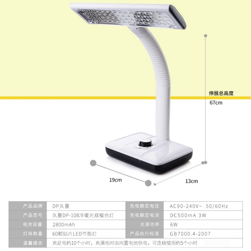 Table Lamp Modern Night Lights Bedside Lamp Plug Table Light for Study Gift Dimmable Lamparita Mesa Noche Desk Lamp AC50TD enlarge
