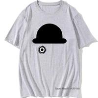 black hat t shirt crazy men tshirt clockwork orange alexander alex logo green t shirts cotton simple cartoon fun tops tees new