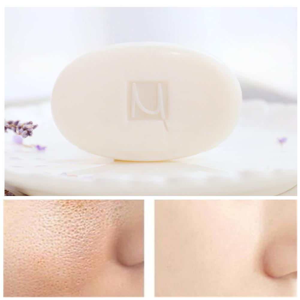 100g eliminación de espinillas poros acné jabón de tratamiento limpiador antiácaros para lavado de la piel jabón CUIDADO HIDRATANTE base cuidado de la cara N0O7
