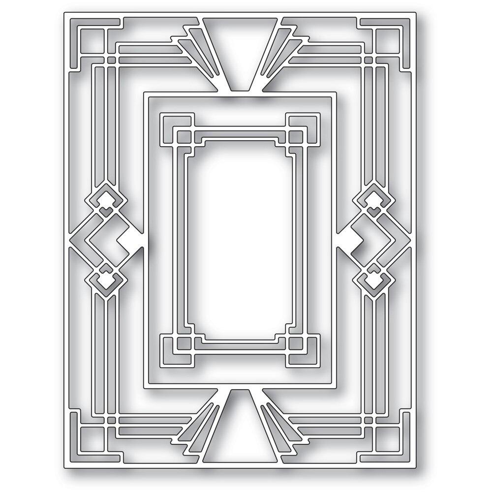 Тиснение для создания лестницы декоративная рамка фотография тиснение шаблон Сделай Сам поздравительная открытка 2021 металлические пресс-...