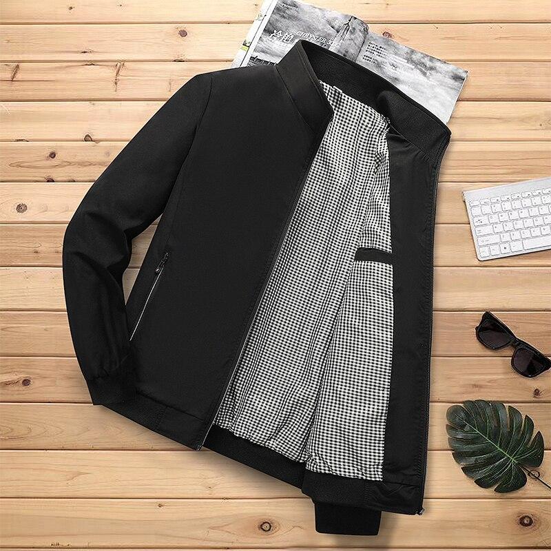 Новая однотонная Повседневная куртка для мужчин Осенняя зимняя верхняя одежда мужские классические утепленные пальто мужские куртки для м...
