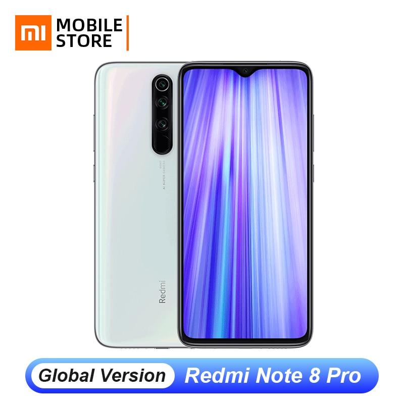 "Versión Global Xiaomi Redmi Note 8 Pro 6GB 128GB 64MP Quad Cámara teléfono inteligente Helio G90T 6,53 ""FHD pantalla 4500mAh UFS 2,1 NFC"