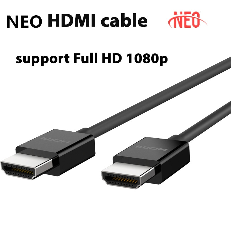 Suporte a Cabo Caixa de tv Hdmi Android Inteligente Qualidade hd Completa 720p 1080p Neo tv