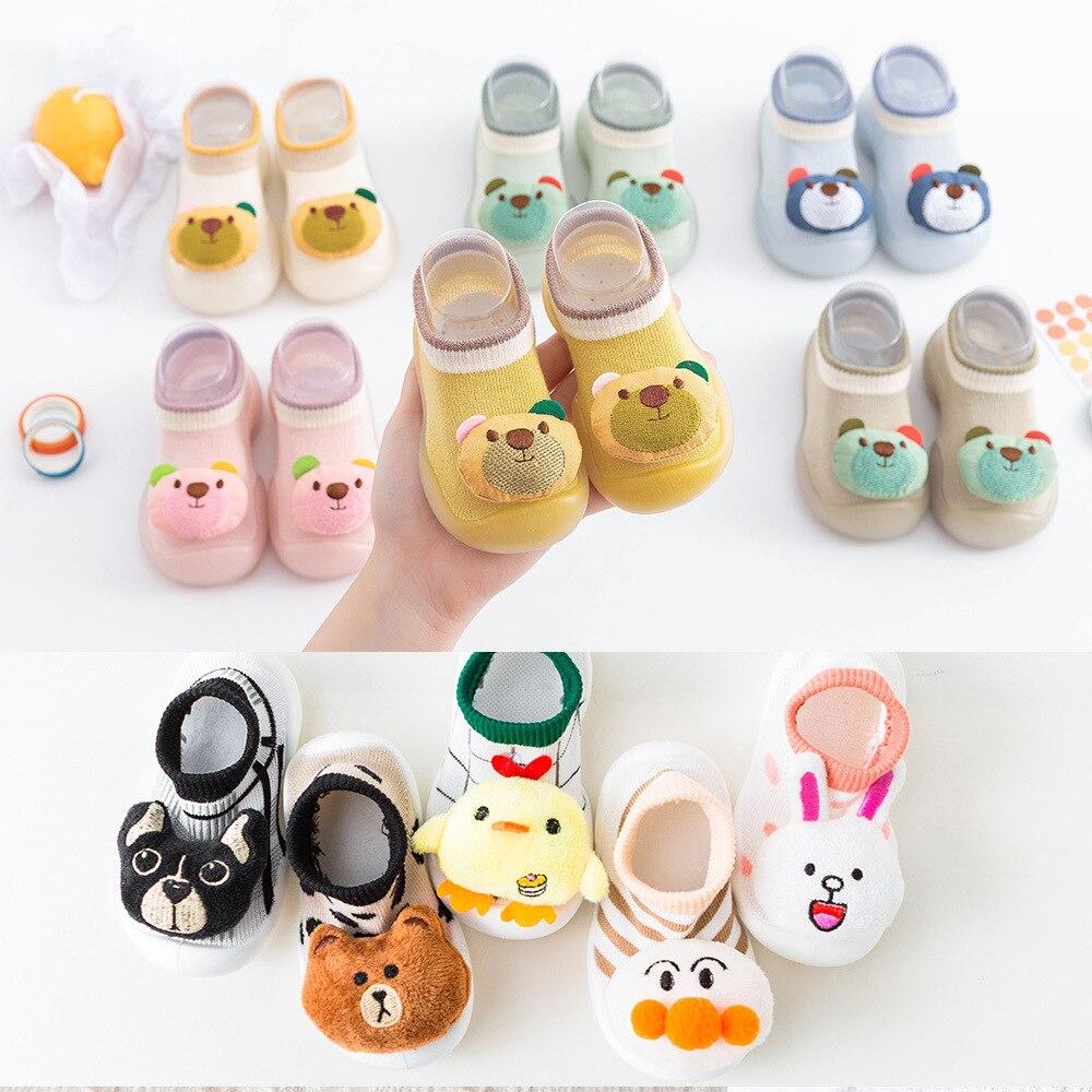 Новые детские напольные туфли COJOK, нескользящая Милая обувь для малышей, напольные носки
