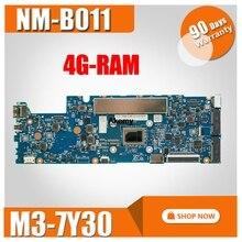 Carte mère dordinateur portable NM-B011 pour For Lenovo YOGA 710-11IKB carte mère dorigine 4G-RAM M3-7Y30