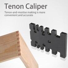 Menuiserie Tenon étrier haute précision métrique impérial carte Gaugem Multi travail du bois routeur scie Table Machine mesure règle