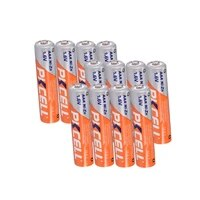 12pcs pkcell aaa nizn rechargeable batteries aaa ni zn 900mwh 1 6v battery for digital camera rc car flash electric toys