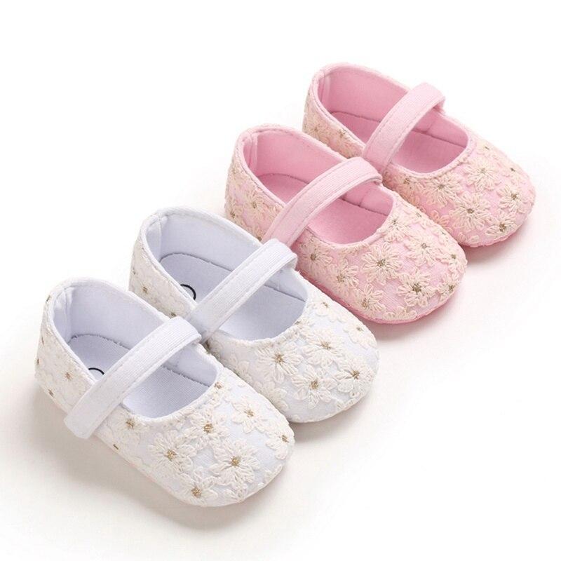 Фото - Повседневные милые туфли для новорожденных, мягкая обувь с цветочным принтом для маленьких девочек, прогулочная обувь для новорожденных 0-18... chicco обувь для новорожденных