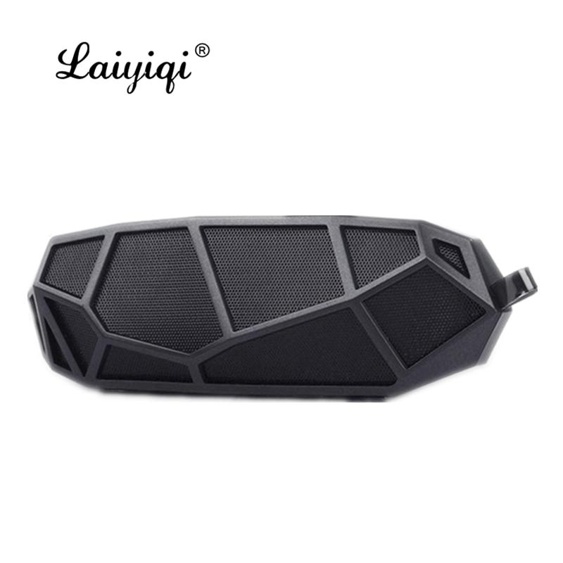 Laiyiqi 2021 panal mini altavoces Bluetooth inalámbrico micrófono TF Red con ganchos...