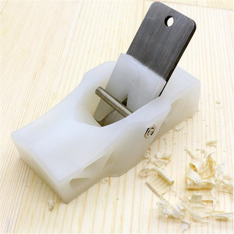 Cepillo de mano DIY carpintería carpintero herramientas Mini PP Manual madera ligera cepilladora hogar recorte Mini cepilladora