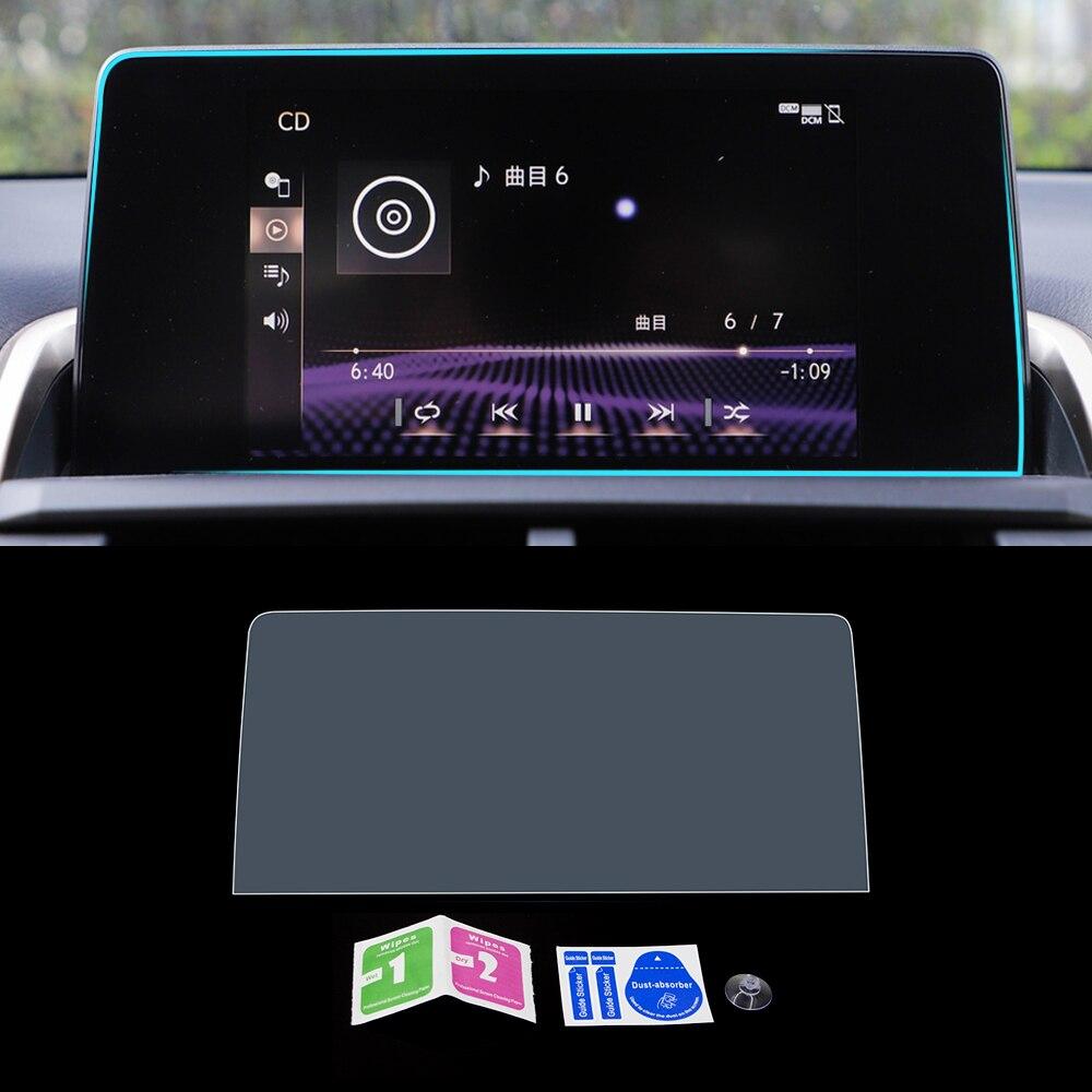 Para LEXUS NX AZ10 300 300h 200t 2014-2019 navegación del coche Monitor GPS pantalla protectora de vidrio templado película pegatina Accesorios