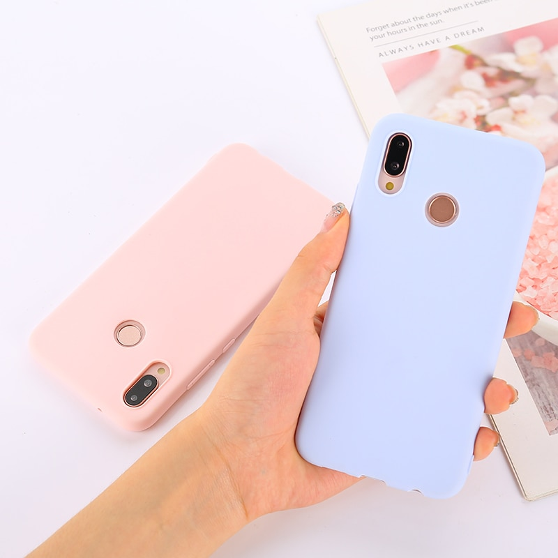 Candy Color Soft Case Cover for Xiaomi Redmi Note 4 4X 5 6 7 8 8T K30 K20 Pro 4A 4X 5A 5 Plus 6 6A 7