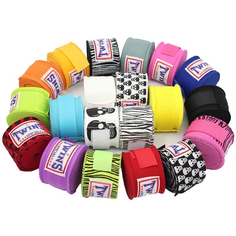 2 teile/paket 5M TWINS Boxen Hand Wraps MMA Kick Boxing Boxbandagen für Training 5cm breite Bandagen Muay Thai T