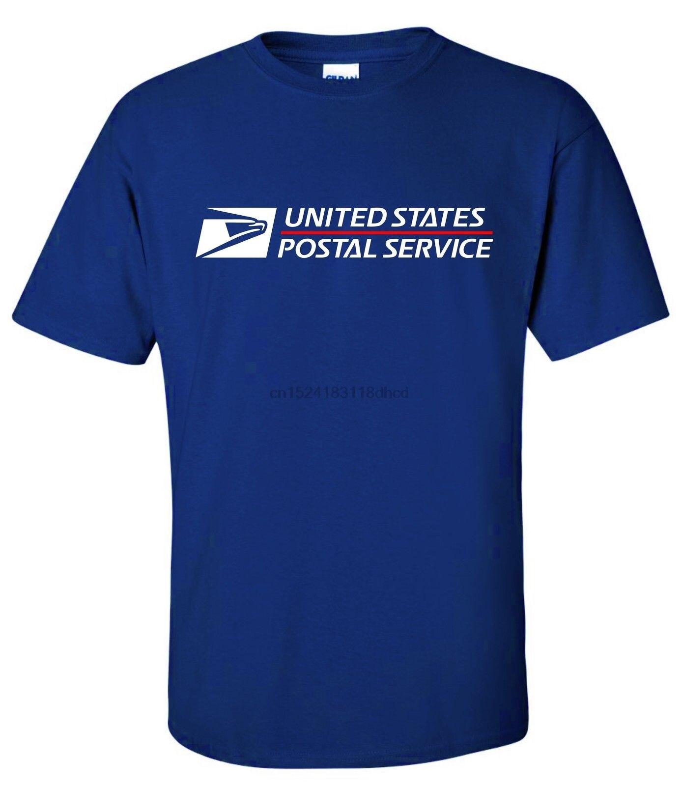USPS POSTAL, camiseta de manga corta, Logo en el pecho, servicio Postal NAVY 2