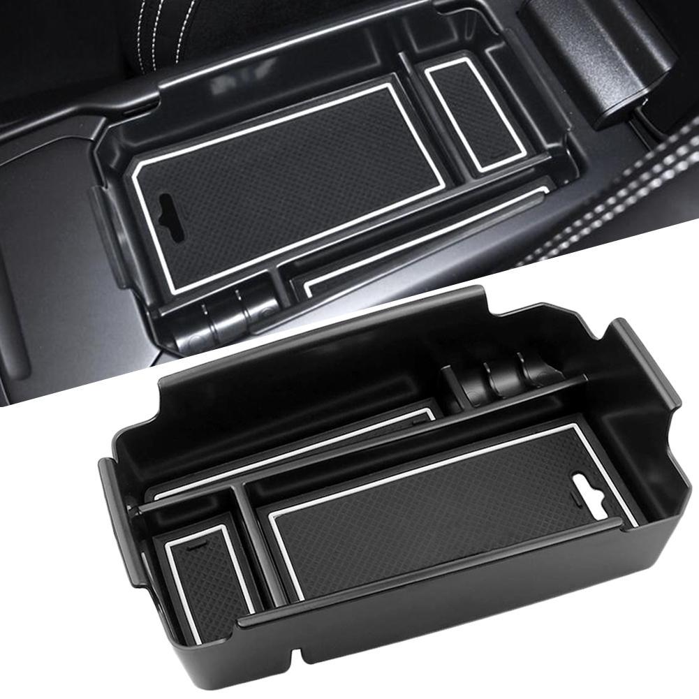 Nuevo Almacenamiento de reposabrazos central para coche caja soporte contenedor de silicona Mat Material ABS Auto accesorios interiores para Volvo XC40 2019