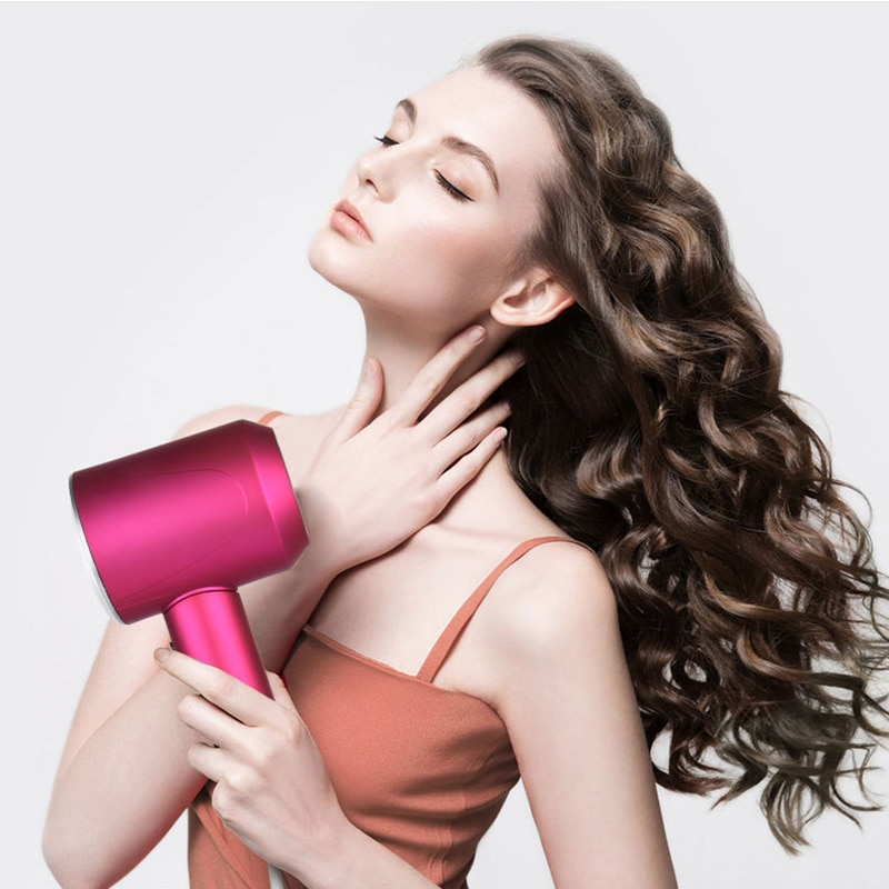 Professional Hair Dryer Strong Wind Salon Dryer Hot Air&Cold Air Wind Negative Ionic Hammer Blower Dry Electric Hairdryer salon enlarge