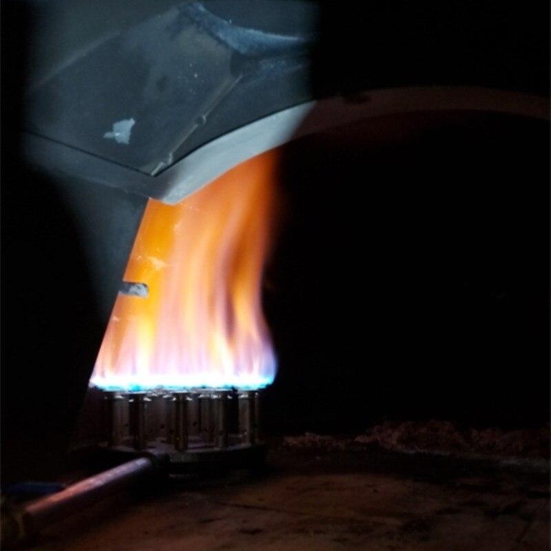 Commercial High Pressure Gas Stove Head Kitchen Restaurant Fast Cooking Burner Cast Iron Methane Burner