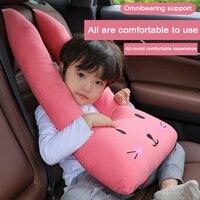 Children Car Pillow Seat Belts Neck Headrest for Peugeot 307 206 308 407 207 508 208 406 2008 3008 2018 Mitsubishi ASX Outlander