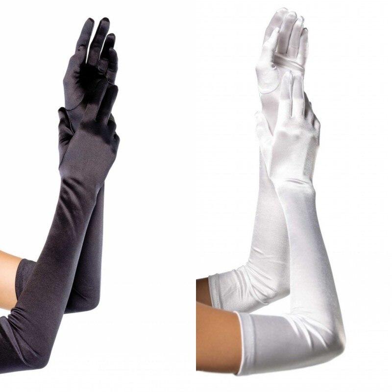 Stage Wear Sexy Costume Gloves Singer Nightclub Pole Dance Elbow Gloves Long Sleeve Female Gift Glov
