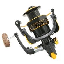 Fish Spinning Reel BL4000-6000 5.2:1 12Ball Bearing Fly Wheel For Fly Wheel Rocker Plastic Rocker Arm Exchanged