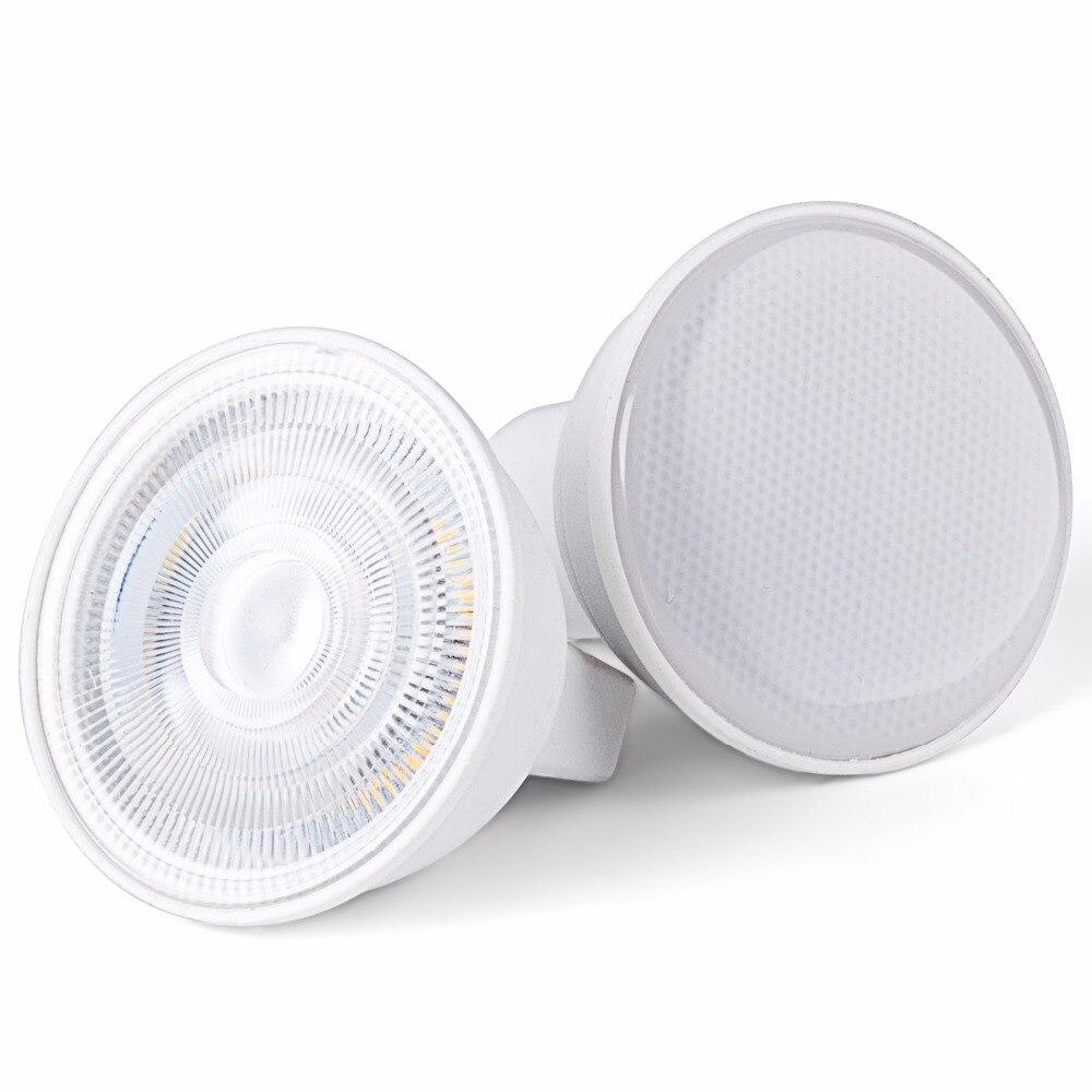 led spotlight bulb gu10 mr16 6w cob lamp 110v 220v 230v 240v cool white 6500k nature white 4000k warm white 3000k spot light Led Bulb MR16 Spotlight 6w  Lamp cob Dimmable 220V - 240V Cool White 6500k Nature White 4000k Warm White 3000k Energy Saving