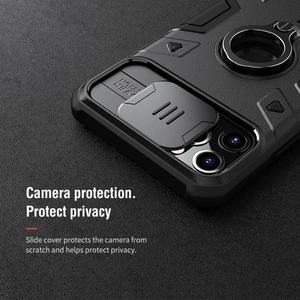 Image 3 - Защитный чехол для камеры iPhone 11 Pro Max Ring stand, чехол NILLKIN Slide для iPhone 11 6,5, 2019, чехол для iPhone 11 Pro
