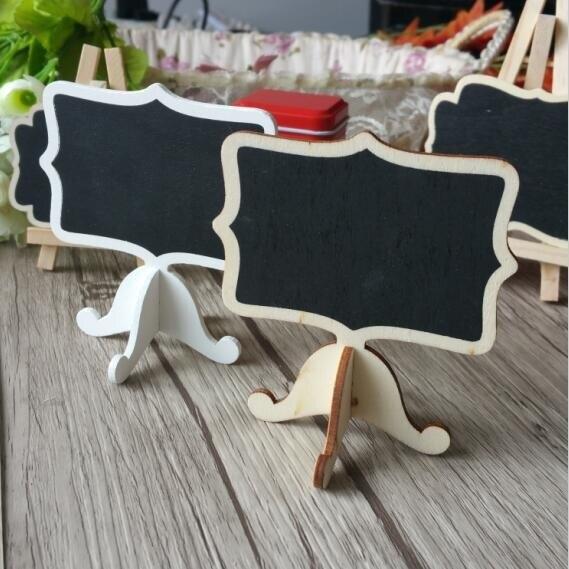 free shipping 40pcs Mini blackboard seat card Blackboard Party Decoration Seat Card Wedding