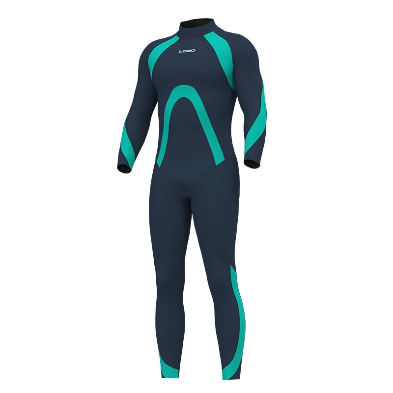 Hevto 3MM Neoprene WetSuit Men Scuba One Piece Snorkeling Swimsuit Surfing Keep Warm Diving Suit Spearfishing Hunting Equipment